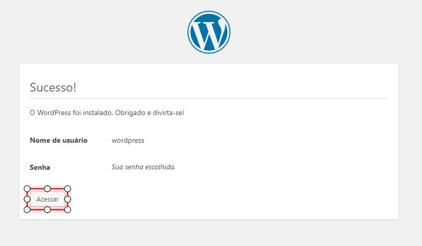 Acessar WordPress